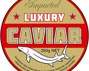 Tin Caviar Label 2