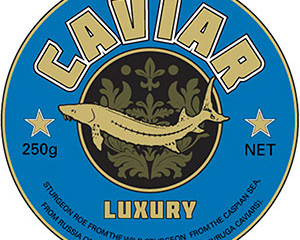 Tin Caviar Label 1