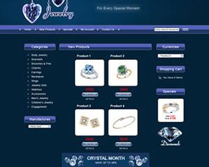 Jewellery E-Commerce Template 2