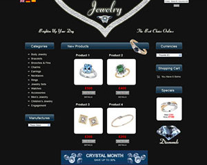 Jewellery E-Commerce Template 1
