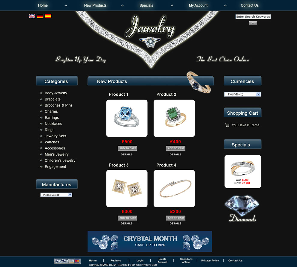 Jewelry-Template-home