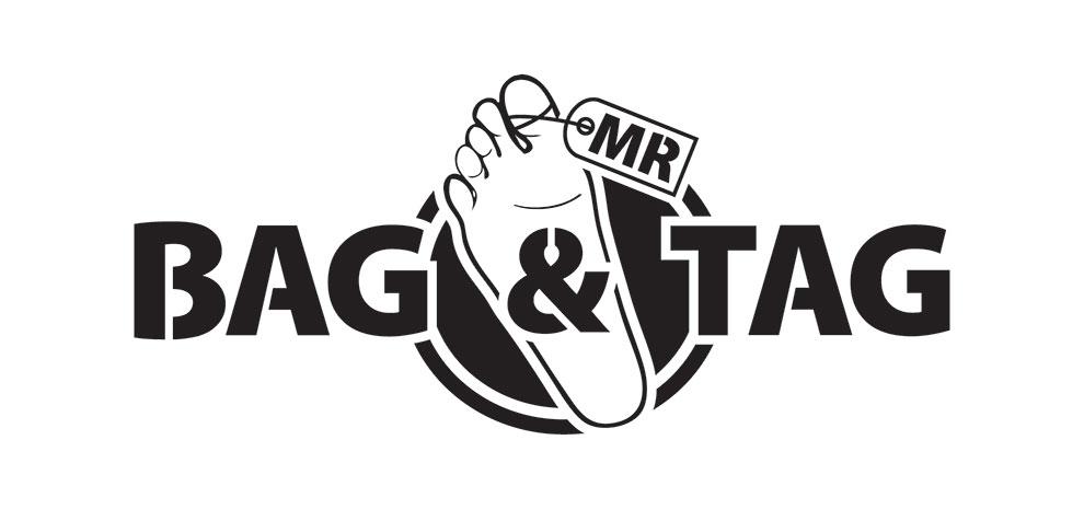 Mr Bag and Tag logo design