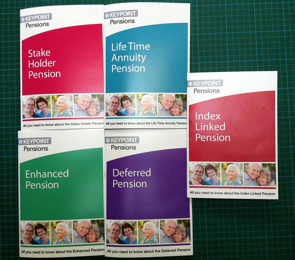 Pension-Leaflets