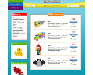 Toys E-Commerce Template 2