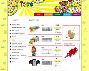 Toys E-Commerce Template 1