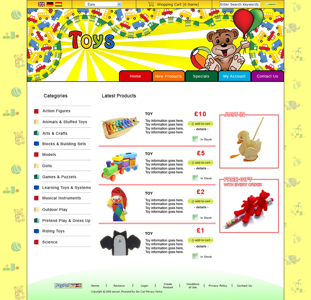 Toys-Home-Page