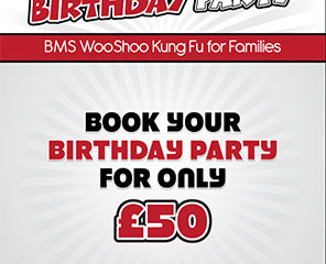 BMS WooShoo Birthday Party Poster