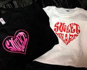Sweet Heart T-Shirt Designs