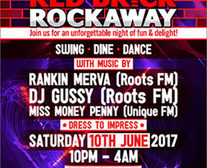 Flyer – Bass 1 Red Brick Rockaway