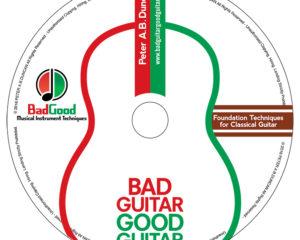 Bad Guitar Good Guitar DVD label