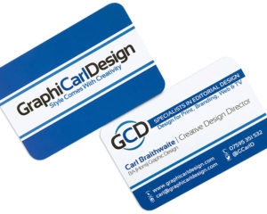 GCD Business Cards (Back & Front)