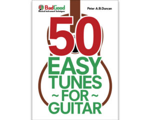 50 Easy Tunes for Guitar book cover